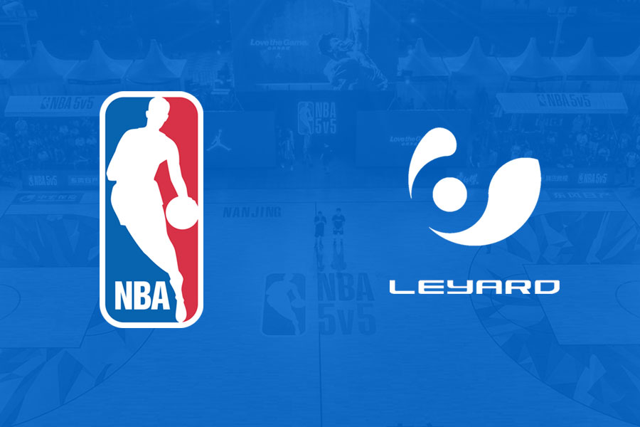 NBA 5v5 | Leyard's & NBA China cooperation got to the Next Level